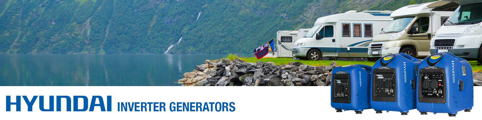 Inverter Generators - Buy Online - Free UK Delivery