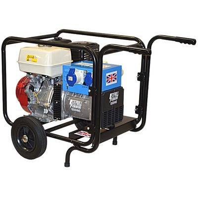 Stephill 6500HMS t/k Portable Petrol Generator