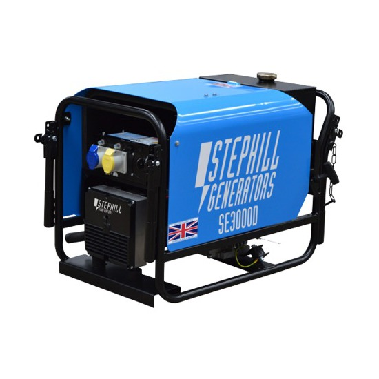 Stephill SE3000D - Portable Generator - Kentec Generators