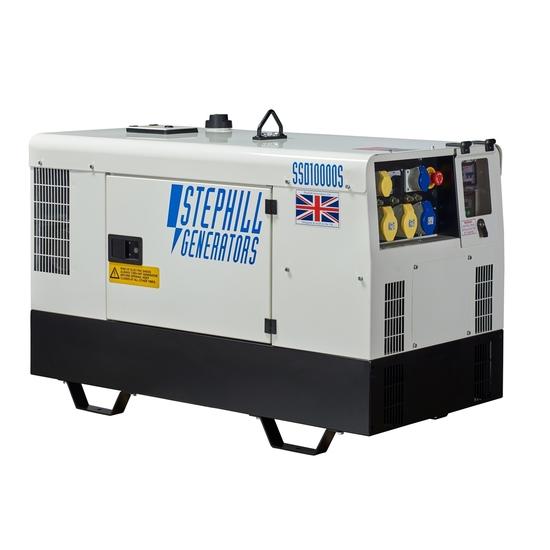 Stephill SSD10000S Super Silent Diesel Generator