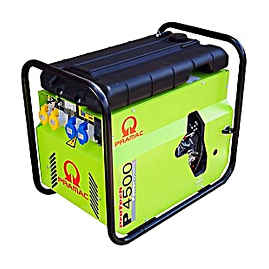 Pramac P4500 230/115v E-Start - Diesel Generator - Pramac Generators