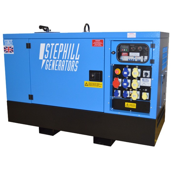 Stephill SSDK25M Multiphase Diesel Generator - Standby Generator