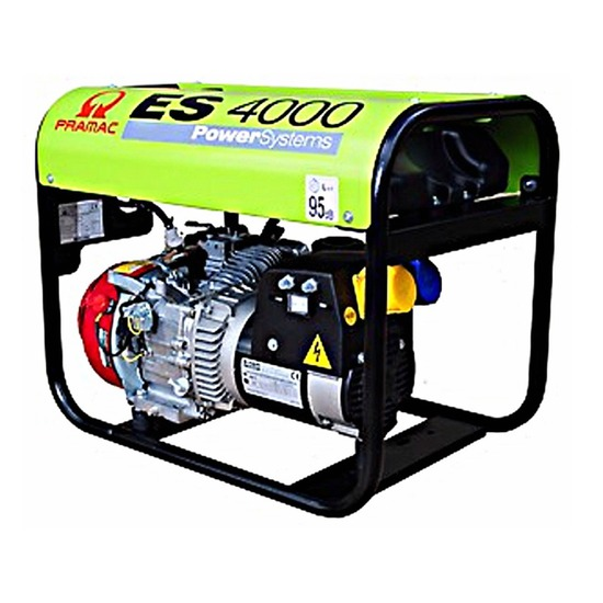 Pramac ES4000 230/115v - Long Run Generator - Honda Engine