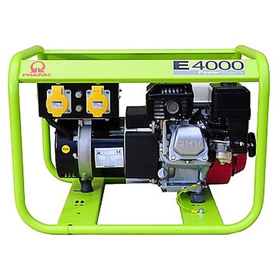 Pramac E4000 230/115v 3.4kVA - Honda Engine - Pramac Generators