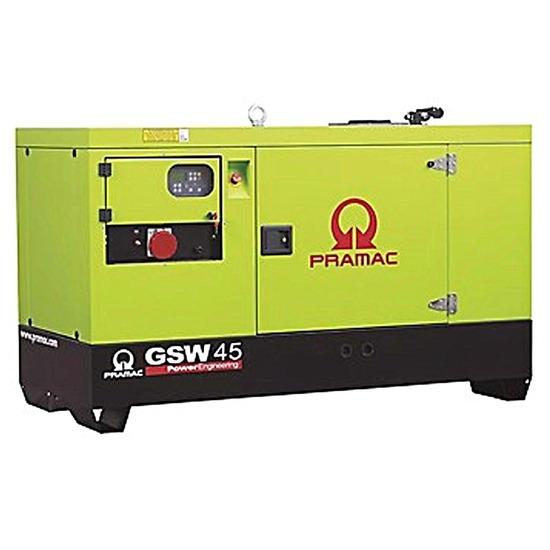 Pramac GSW45Y 45kVA Diesel Generator - Yanmar Engine - Pramac Generators