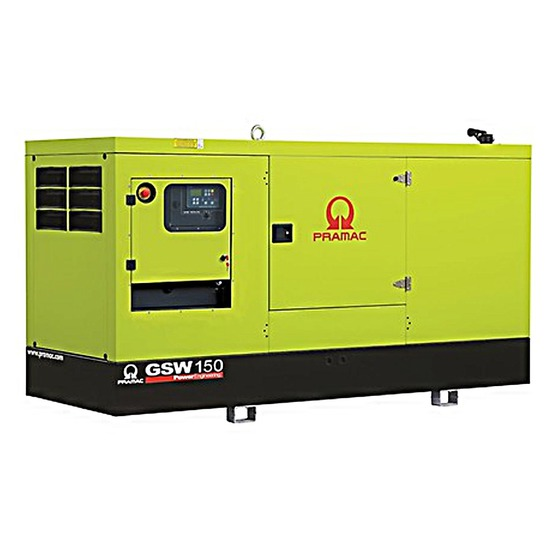 Pramac GSW150P 150kVA Diesel Generator - Perkins Engine - Pramac