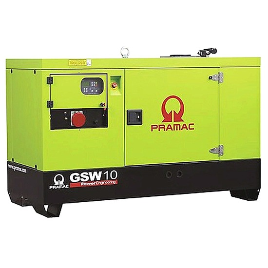 Pramac GSW10Y Diesel Generator - Yanmar Engine - Pramac Generators