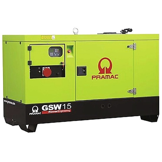 Pramac GSW15P Diesel Generator - Perkins Engine - Pramac Generators
