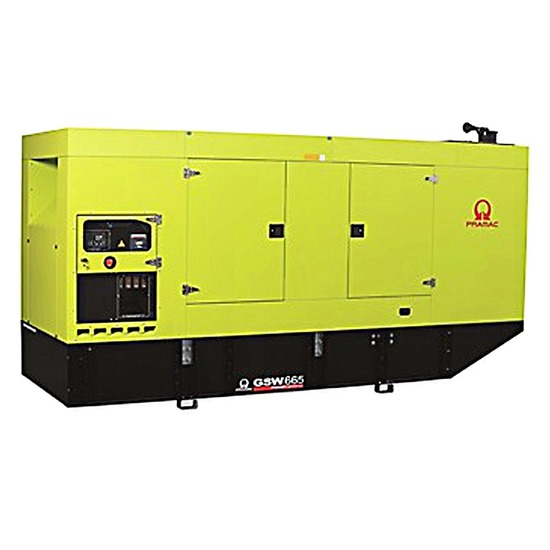 Pramac GSW665M Diesel Generator - MTU Engine - Pramac Generators