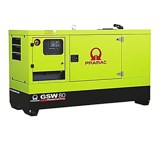Pramac GSW80P 80kVA Diesel Generator - Perkins Engine - Pramac
