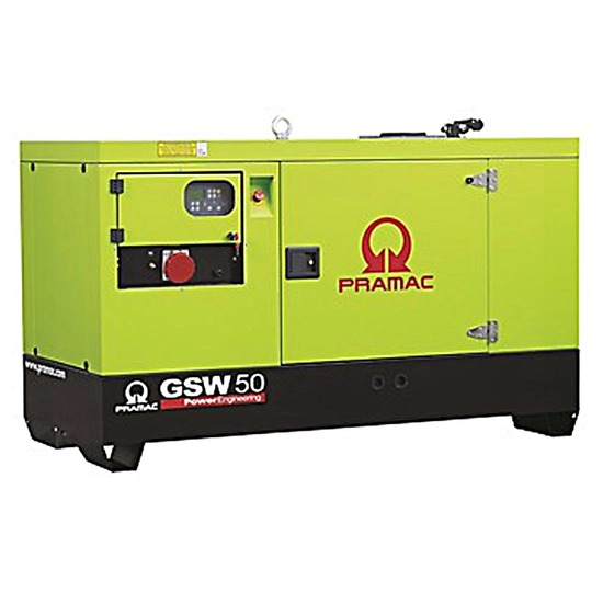 Pramac GSW50Y 50kVA Diesel Generator | Yanmar Engine | Pramac Generators