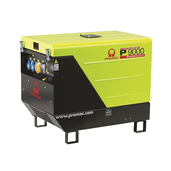 Pramac P9000 230/115v Low noise Portable Diesel Generator - Kentec
