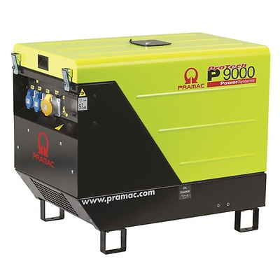 Pramac P9000 230/115v +AVR HUK Portable Long Run Generator