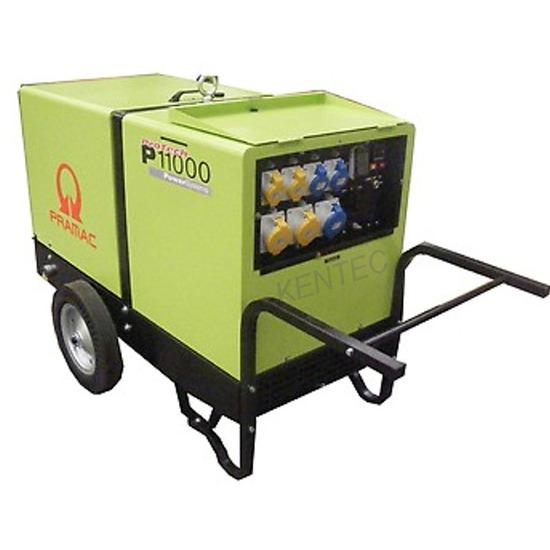 Pramac P11000 230/115v Low Noise Diesel Generator
