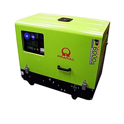 Pramac P6000s 230/115v HUK Diesel Generator