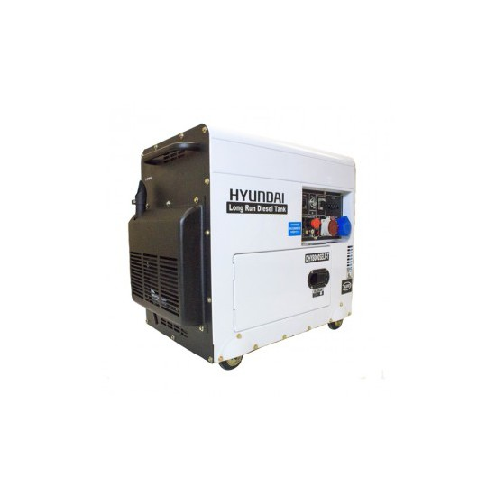 Hyundai DHY8000SELR-T Standby Diesel Generator - Portable