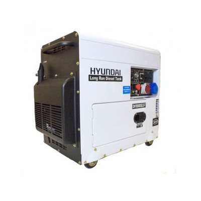 Hyundai DHY8000SELR-T Standby Portable Diesel Generator