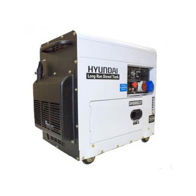 Hyundai DHY8000SELR-T Standby Diesel Generator