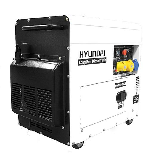 Hyundai DHY8000SELR Diesel Generator - Hyundai Generators