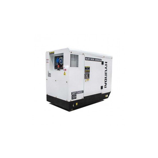 Hyundai DHY12500SE Diesel Generator - Low Noise - Mians Standby