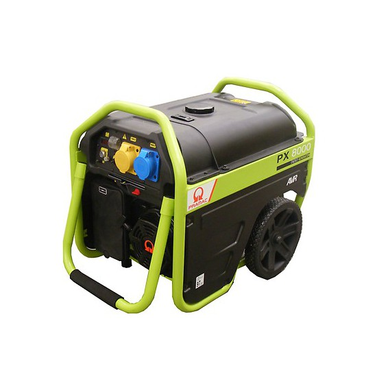 Pramac PX8000 230/115v +AVR Electric Start Petrol Generator