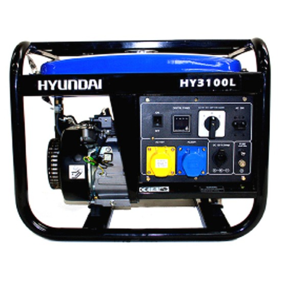 Hyundai HY3100L Petrol Generator - Shop online with free UK delivery