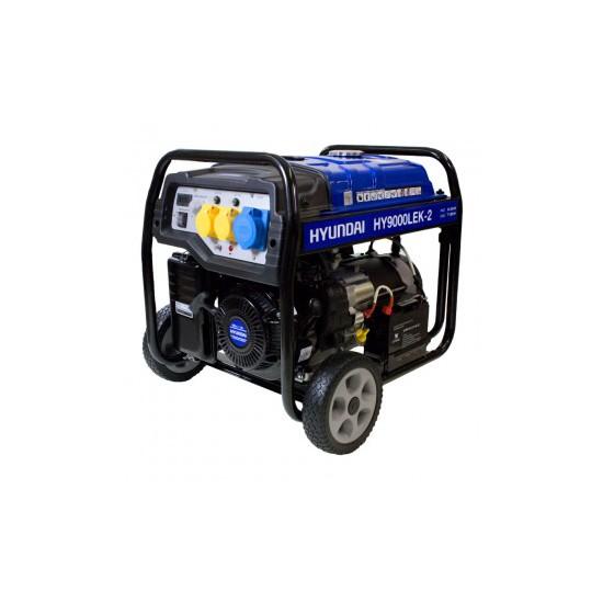 Hyundai HY9000LEk-2 Petrol Generator - Hyundai Generators