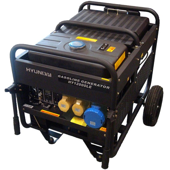 Hyundai HY12000LE Petrol Generator - Shop online with free UK delivery
