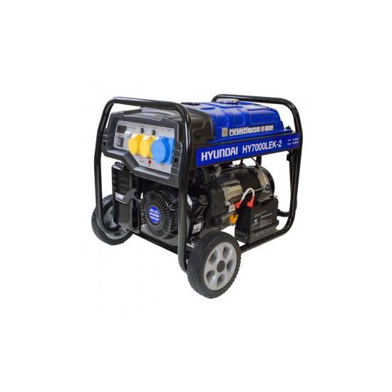 Hyundai HY7000LEk-2 Petrol Generator - Hyundai Generators