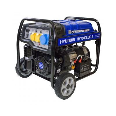 Hyundai HY7000LEk-2 E/S Petrol Generator