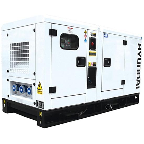 Hyundai DHY22KSE 3-Phase 8-25kVA Diesel Generator