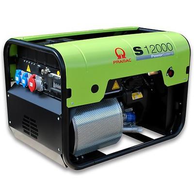 Pramac S12000-400v +AVR+CONN+DPP   Petrol Generator