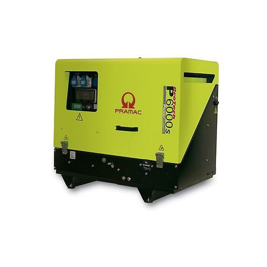 Pramac P6000s 230v +CONN+DPP - Low Noise - Pramac Generators