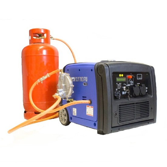 Hyundai HY3200SEi-LPG - Low Noise Inverter Generator - Hyundai Generators