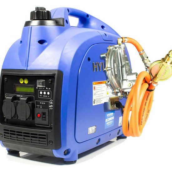 Hyundai HY2000Si-LPG Inverter Generator - Free UK Delivery - Kentec Generators