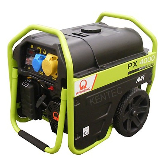 Pramac PX4000 230/115v +AVR Long Run Generator