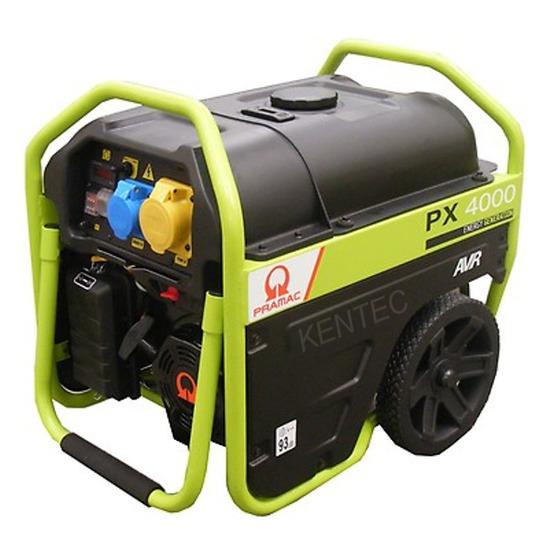 Pramac PX4000 3kVA 230/115v + AVR Generator