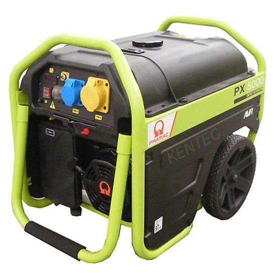 Pramac PX5000 4kVA 230/115v +AVR Generator - Pramac Generators