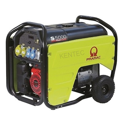 Pramac S5000 230/115v E-Start Petrol Generator