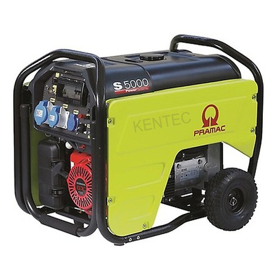 Pramac S5000-230v +CONN+AVR+RCD Petrol Generator