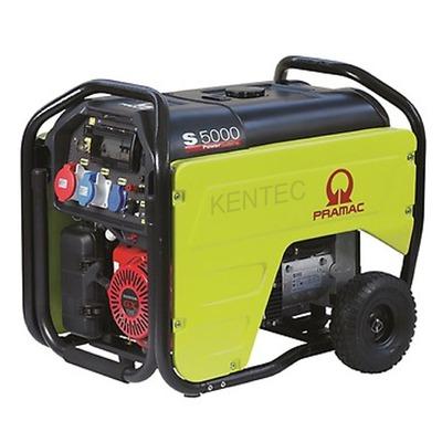 Pramac S5000-400v +CONN+AVR+RCD Petrol Generator