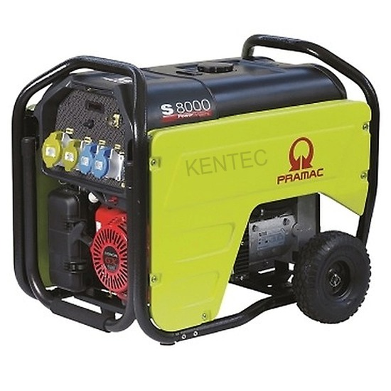 Pramac S8000 230/115v E-Start - Honda Powered Generator