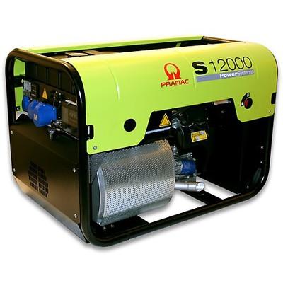 Pramac S12000-230v 63A +CONN Petrol Generator