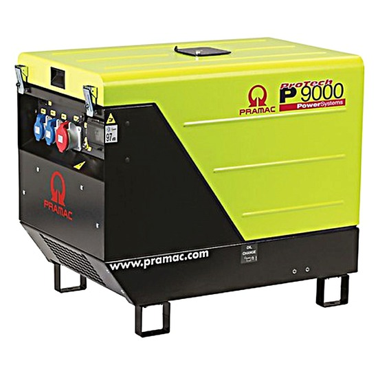 Pramac P9000 400v +AVR+CONN+DPP 3PH 3-Phase Portable Generator