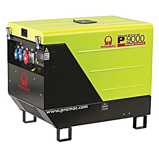 Pramac P9000 400v - Portable Diesel Generator - Kentec Generators