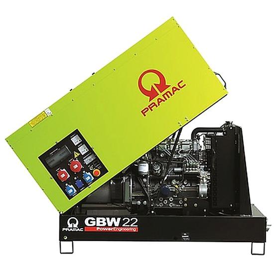 Pramac GBW22P Diesel Generator - Perkins Engine - Pramac Generators