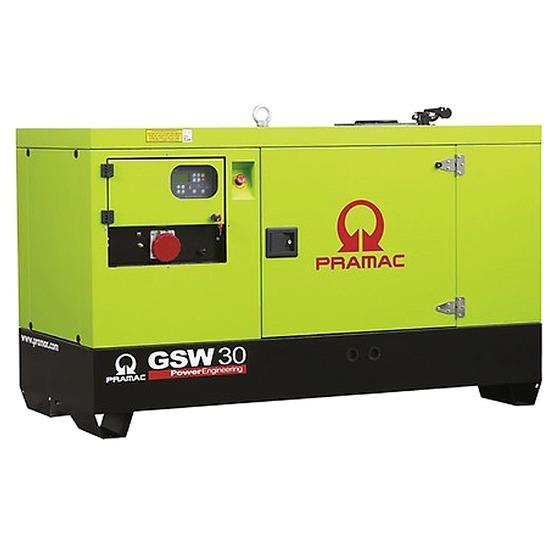 Pramac GSW30Y 30kVA Prime Diesel Generator - Yanmar Engine