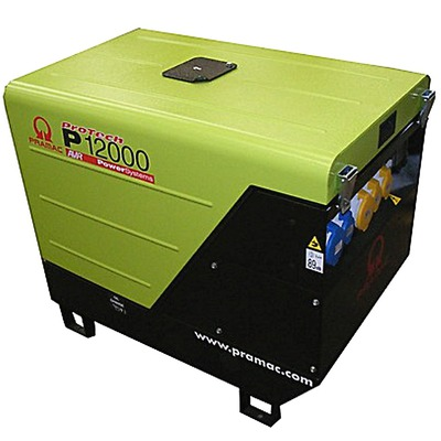 Pramac P12000 230/115V +AVR Long Run Generator