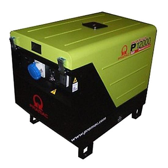 Pramac P12000 230V +CONN+AVR | Honda Engine | Pramac Generators