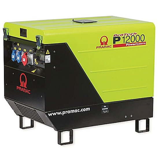 Pramac P12000 400v +AVR +CONN +DPP Long Run Generator